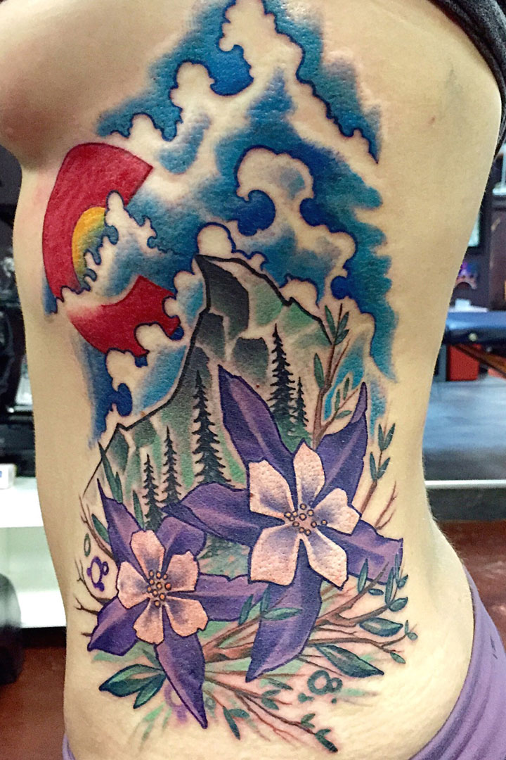 Top colorado tattoo i images for pinterest tattoos for Best tattoo artist in colorado springs