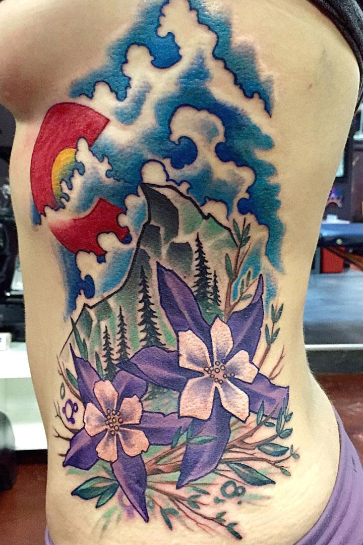 Paul berkey denver tattoo artist for Tattoo artist denver