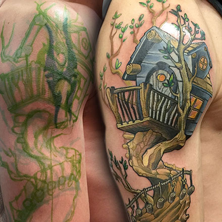 Treehouse Tattoo
